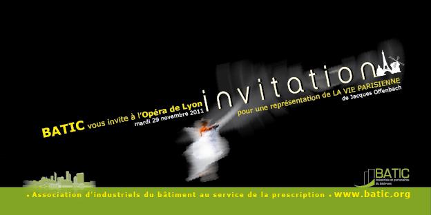 BATIC, invitation