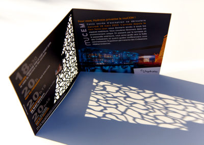 Hydrotis Mucem, invitation