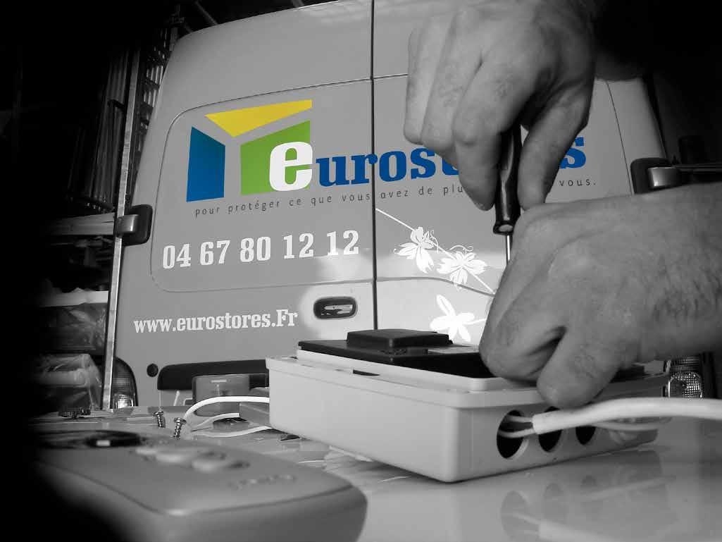Eurostores, habillage des véhicules
